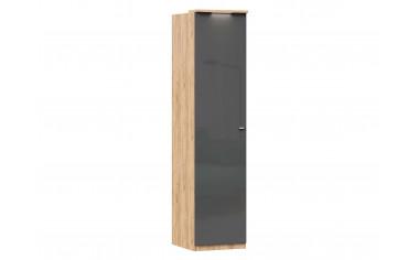 Шкаф 1-дверный с полками и штангой - ЛД 659.221.L - фабрика мебели Любимый дом