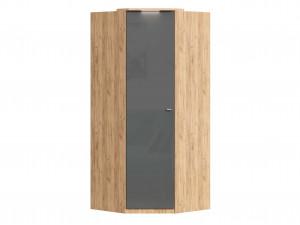 Угловой шкаф 1-дверный с полками СЛЕВА и со штангой СПРАВА - петли СЛЕВА - (659.244.L)