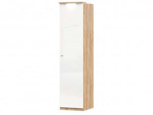 Шкаф 1-дверный с 6-ю полками и со штангой в комплекте - петли СПРАВА - (659.224.R)
