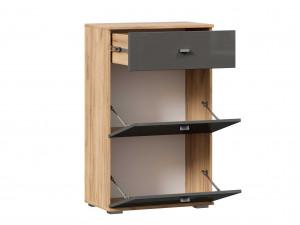 Тумба для обуви с 2-мя дверками и с одним ящиком - (659.340.A)
