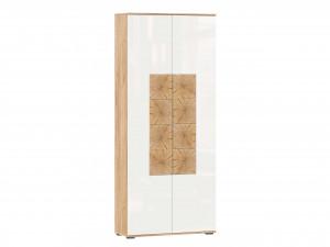 Шкаф 2х-дверный шириной 920 мм. с вешалкой и крючками для одежды - (659.310.W)