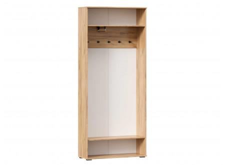 Шкаф 2х-дверный шириной 920 мм. с вешалкой и крючками для одежды - (659.310.A)