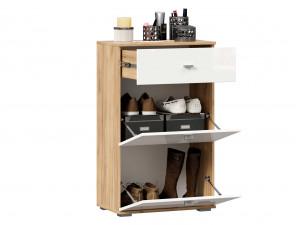 Тумба для обуви с 2-мя дверками и с одним ящиком - (659.340.W)