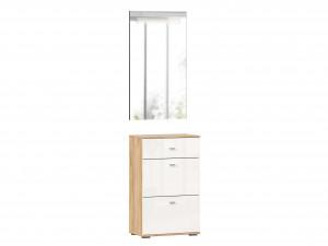 Зеркало настенное вертикальное шириной 590 мм с подсветкой - (659.390)