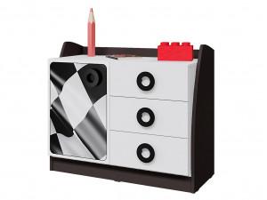 Тумба-комод с 3-мя ящиками и дверкой - 514.070