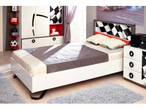 Кровать с высоким изголовьем, спальное место 120*200 - 514.020