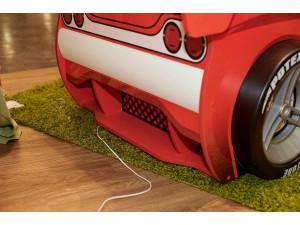 Кровать-машина без матраса со спальным местом 80*160 - 514.012 (с декоративными колесами)