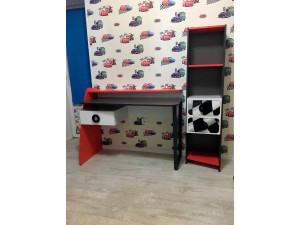 Письменный стол с полкой и одним ящиком СЛЕВА - 514.080.L