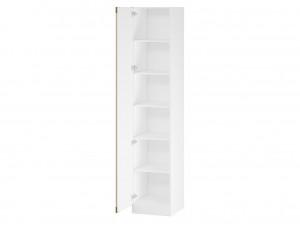 1-дверный шкаф с 5-ю полками (либо со штангой) - 527.060.L (петли двери СЛЕВА)