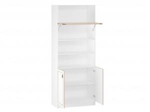 Двух-дверный шкаф-стеллаж с подъемной дверкой - 527.120