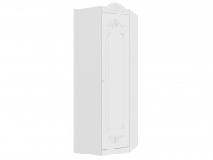 Угловой однодверный шкаф - 525.050 (универсальный - дверь СЛЕВА / СПРАВА)