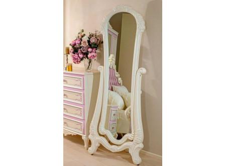 Зеркало напольное, вертикальное в глянцевой раме - 637.890