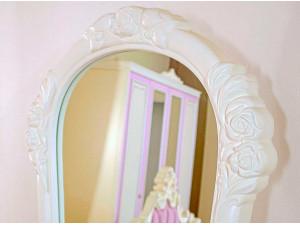 Зеркало напольное, вертикальное в матовой раме - 637.890 (цвет Алебастр)