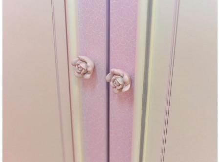 Четырех-дверный шкаф с полками и со штангой - 517.113