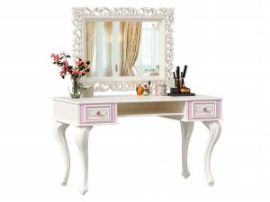 Комплект МАРКИЗА-2, стол письменно-туалетный с наcтенным зеркалом - 517.040_160
