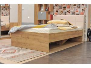 Кровать односпальная сп. место - 90*200 с мягким изголовьем - 522.020