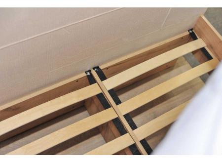 Кровать полутороспальная  - сп. место - 120*200 с мягким изголовьем - 522.140