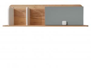 Полка горизонтальная с подъёмной дверкой - 522.111 (универсальная - дверка СПРАВА / СЛЕВА)