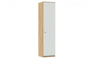 Одно-дверный шкаф с полками и штангой - 522.031