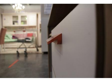 Письменный стол, прямой с одной тумбой с ящиками - 524.150 (универсальный - тумба СЛЕВА / СПРАВА)