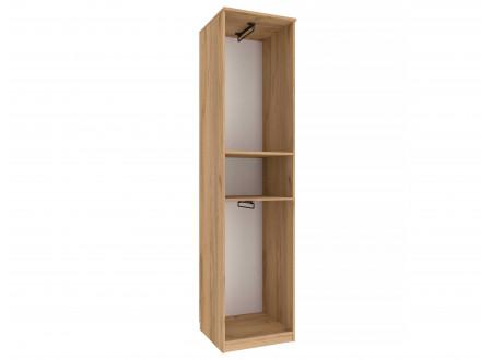 Одно-дверный шкаф - 524.030 (со штангой или с полками) - универсальный - ЛЕВЫЙ / ПРАВЫЙ