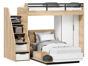Кровать односпальная сп. место - 90*200 с высоким изголовьем - 528.010