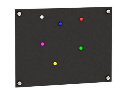 Декоративная магнитная доска, черная, матовая - 528.260