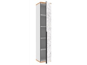 Одно-дверный шкаф с 4-мя полками - 528.040 ПВ - (универсальный L / R)