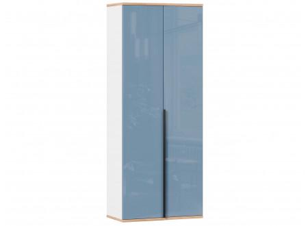 2-х дверный шкаф с 2-мя полками и штангой - 528.050 ПВ (вар. 1 - Капри Синий)