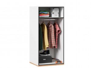 2-х дверный низкий шкаф для кровати-чердака, со штангой внутри - 528.180 (универсальный L / R)