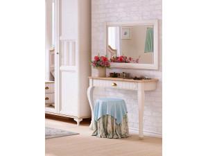 Туалетный приставной стол с одним ящиком - ЛД 680.160