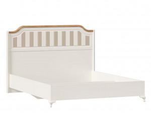Набор мебели Вилладжио - 3 (Кровать со сп. м. 160*200, с решеткой, без матраса и с 2-мя тумбами - ЛД 680.010.012-130-130