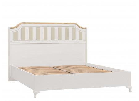 Кровать со сп. м. 160*200, с решеткой без матраса и с высоким изголовьем - ЛД 680.010.012