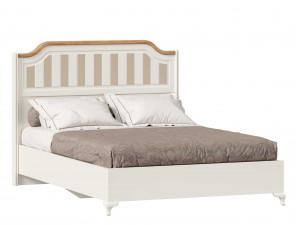 Кровать со сп. м. 140*200, без решетки, без матраса и с высоким изголовьем - ЛД 680.020