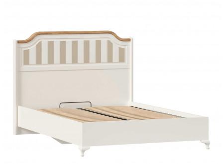Кровать со сп. м. 140*200, с решеткой, без матраса и с высоким изголовьем - ЛД 680.020.014