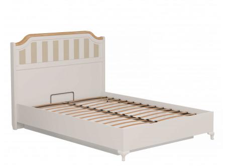 Кровать со сп. м. 140*200, с подъемной  решеткой, без матраса и с высоким изголовьем - ЛД 680.020.015