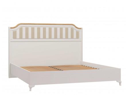 Кровать со сп. м. 180*200, с решеткой без матраса и с высоким изголовьем - ЛД 680.030.016