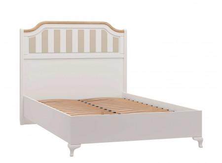 Кровать со сп. м. 120*200, с решеткой, без матраса и с высоким изголовьем - ЛД 680.040.018
