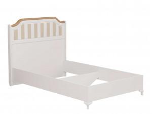 Кровать со сп. м. 120*200, без решетки, без матраса и с высоким изголовьем - ЛД 680.040