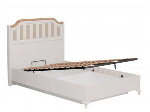 Набор мебели Вилладжио - 5 (Кровать со сп. м. 120*200, с подъемной  решеткой, без матраса и с 2-мя тумбами) - ЛД 680.040.019-130-130