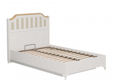 Кровать со сп. м. 120*200, с подъемной  решеткой, без матраса и с высоким изголовьем - ЛД 680.040.019