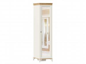 Шкаф 1-дверный с зеркалом и с 4-мя полками внутри - ЛД 680.070.zR - петли СПРАВА