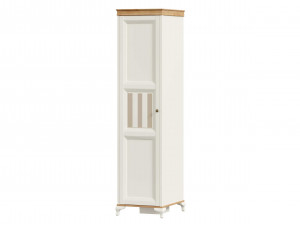 Шкаф 1-дверный с 4-мя полками внутри - ЛД 680.070.L - петли двери СЛЕВА
