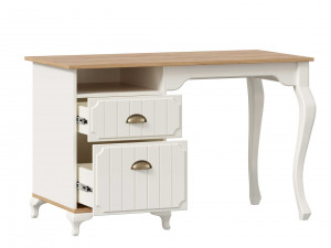 Письменный стол с тумбой с 2-мя ящиками - ЛД 680.190.L - тумба СЛЕВА