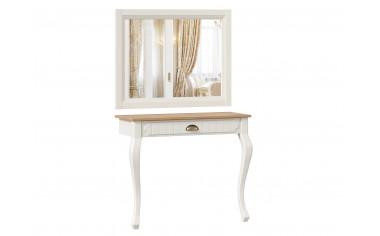 Туалетный приставной стол с зеркалом - ЛД 642.160.170 - фабрика мебели Любимый дом
