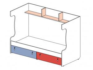 Блок для 2-го этажа 147516, с 2-мя ящиками