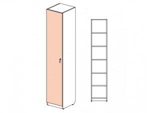 1-дверный шкаф с полками - 144101.L (ЛЕВЫЙ)