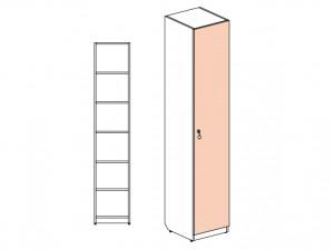 1-дверный шкаф с полками - 144101.R (ПРАВЫЙ)
