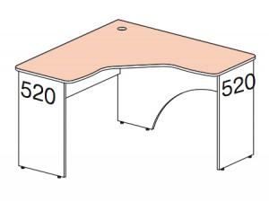 Угловой стол - 147512