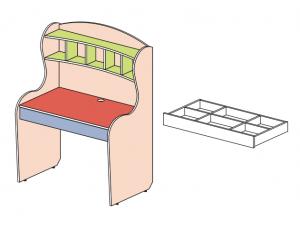стол с надстройкой - 147513